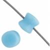 Czech Pellet 4X6mm Soutache Light Blue Alabaster Opaque